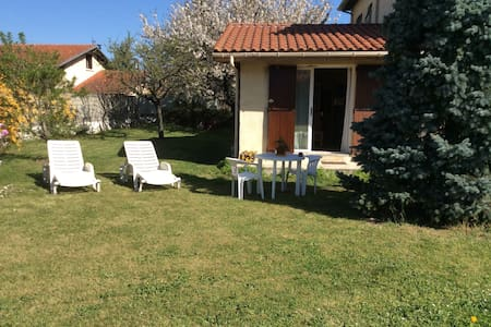 Studio dans jardin arboré  - Verniolle - House