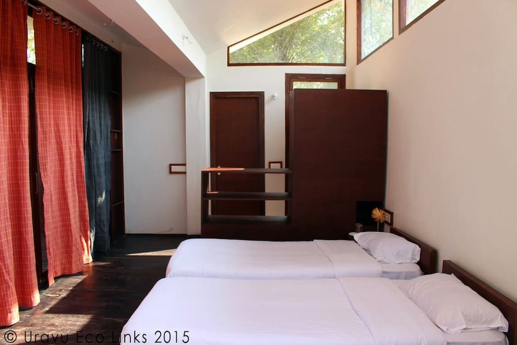 Our room are eco-friendly, well ventilated, offering maximum landscape views and very healthy to live in.