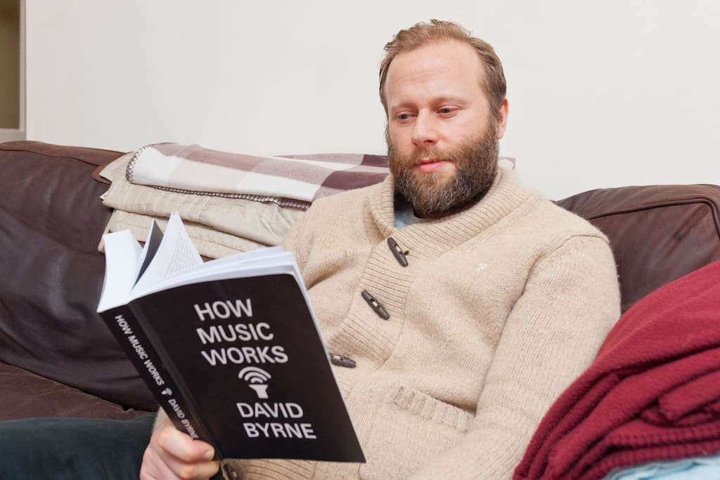 Ah yes...me pretending to read....the beard that I can't seem to get rid of. It keeps coming back!