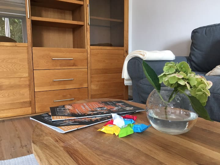 2 rooms flat close to main train station - 24h