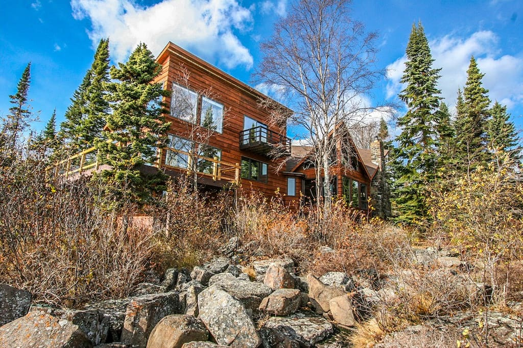 Heaven Sent is not only the name but the experience you will have at this Lake Superior home.