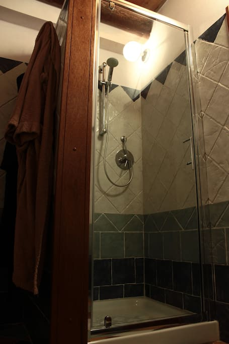 un particolare del box doccia