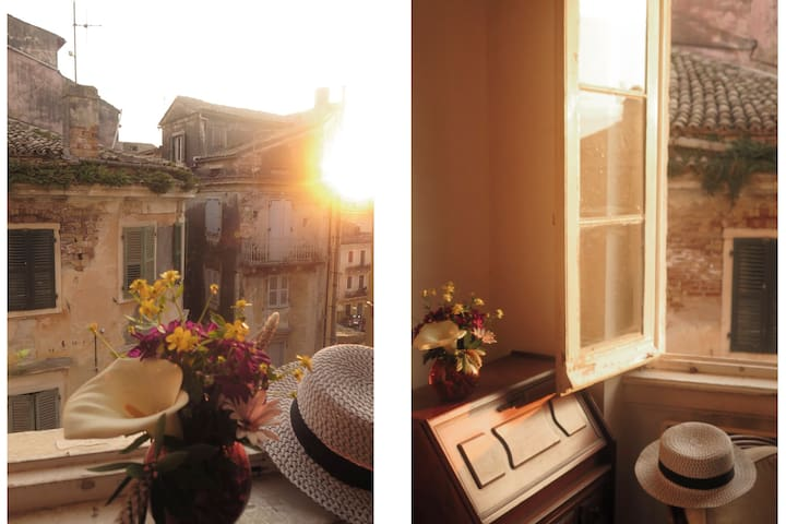 Charming Corfu old town studio