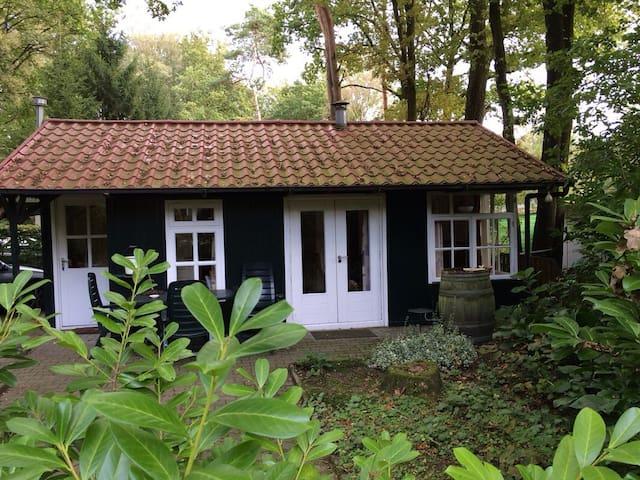 Knus huisje Ootmarsum, Springendal - Nutter - Houten huisje