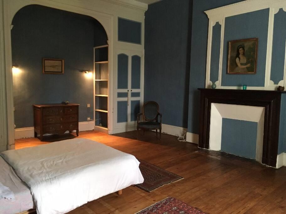 chambre bleue, 35m2