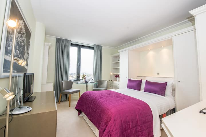 Professionally cleaned Beautifully designed studio - Heart of Kensington