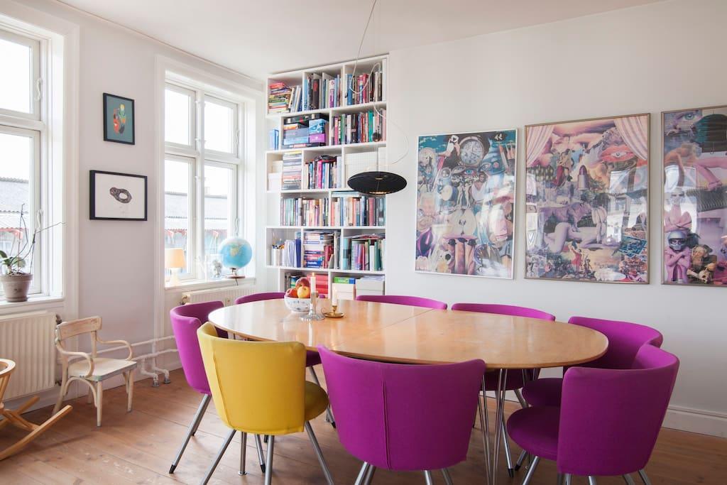 Livingroom - dining area