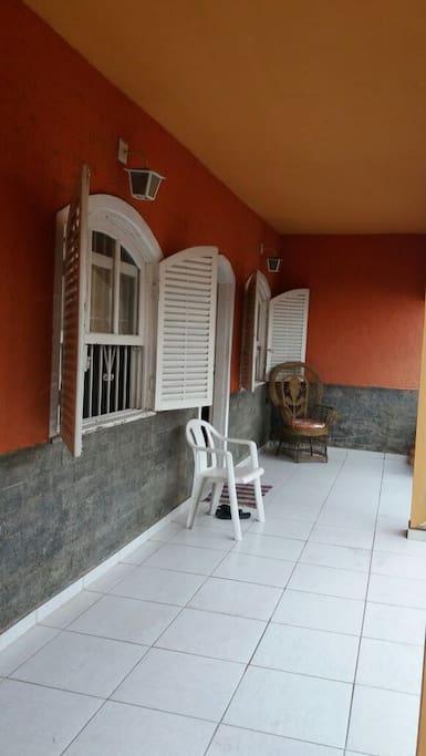 Varanda - Frente da Casa