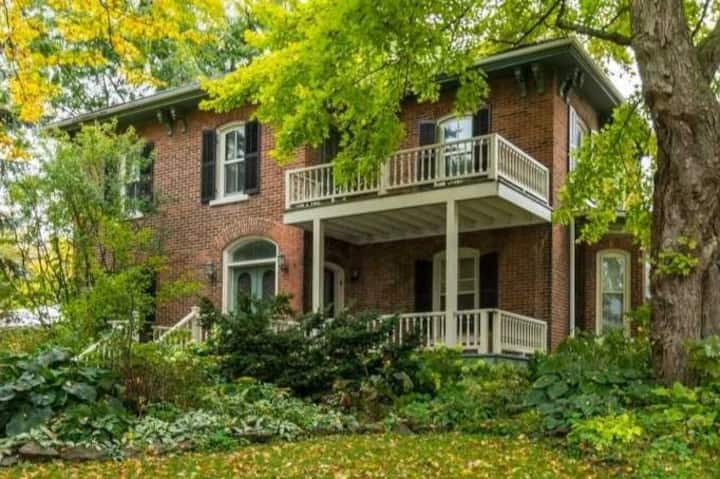 ** The Cherry Valley House **