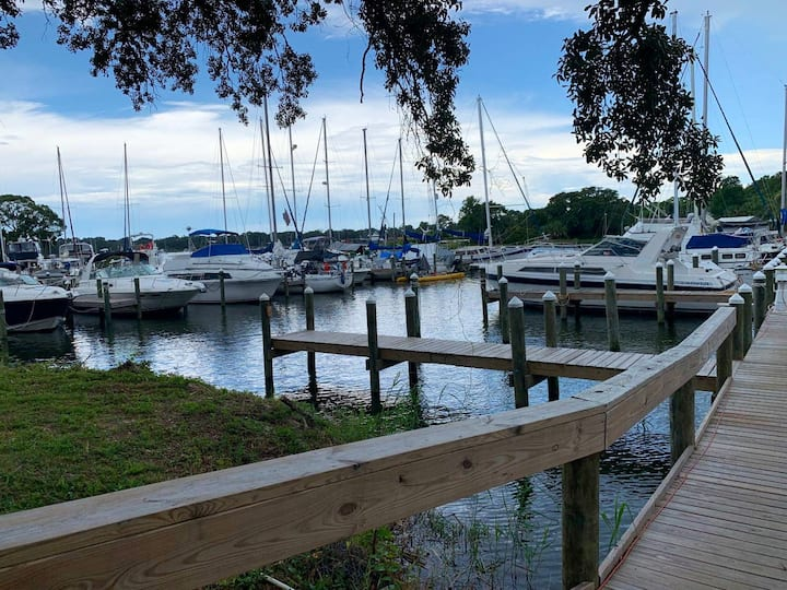 Beautiful Bayou Condo near Downtown Pensacola