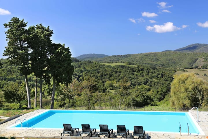Wonderful Villa 15 Km from Florence - Viliani - Apartment
