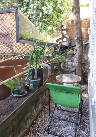 Studio avec jardin cosy proche Nation - Paris
