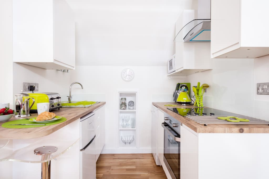 Kitchenette - Pebble Studio Apartment