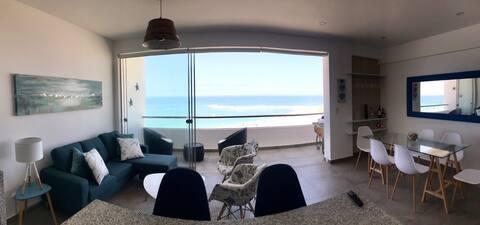 Lindo apartamento frente al mar- Caballeros, PH