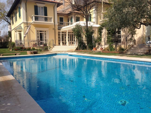 Villa on the sea,with pool, piscina - Pesaro - Casa