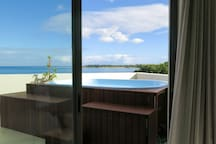 Direct Access to Plunge Pool & Veranda from Master Bedroom