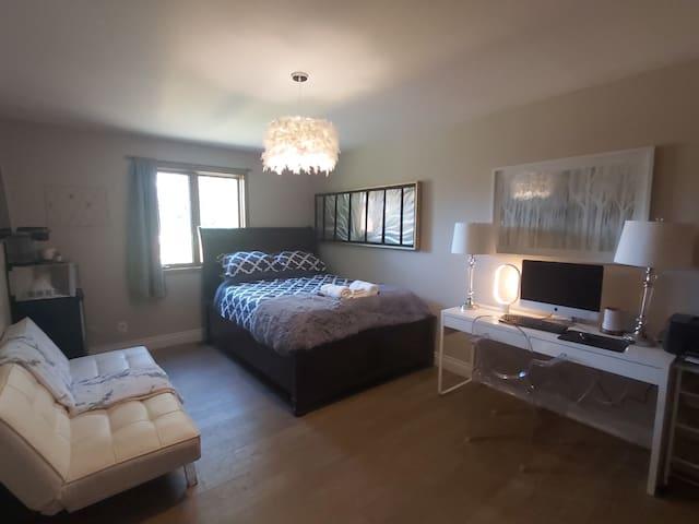 Updated mini suite in updated beautiful home