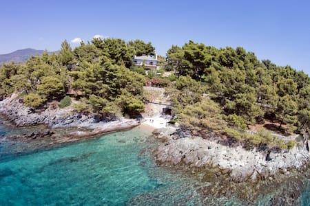 Exclusive Seaside Villa Alkyona - Galini Neou Marmara