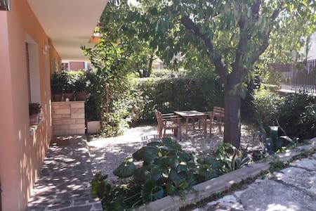 Accogliente appartamento con giardino privato - Fano - Byt