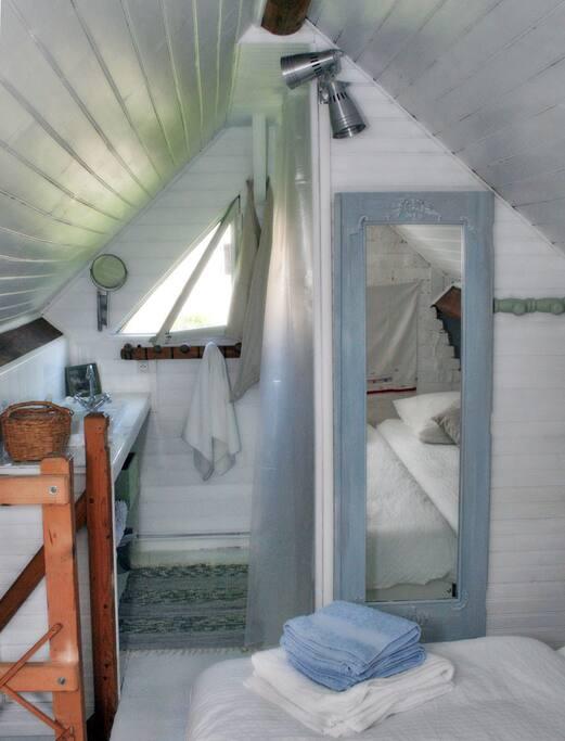 salle de bain a l'étage