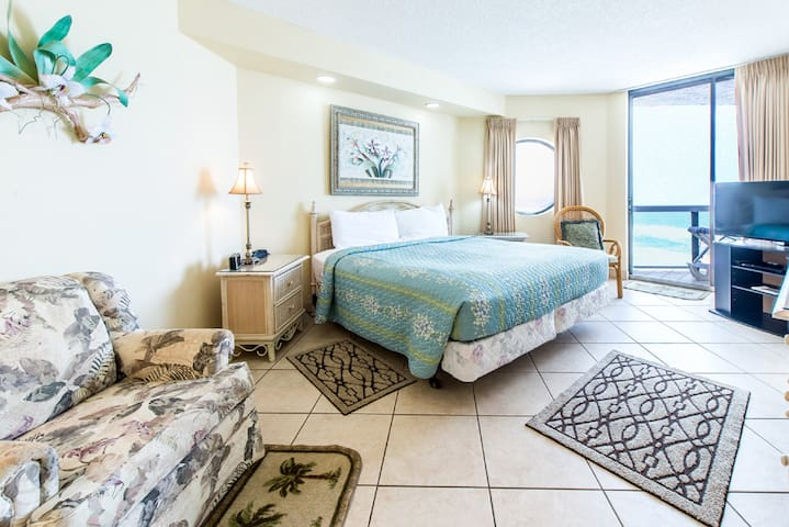Spacious Master Suite with balcony access