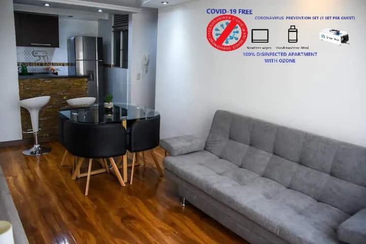 Apartamento Amplio ,acogedor en conjunto cerrado