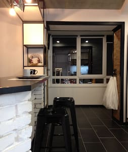 Уютная лофт-студия в новом доме, в Вишневом.