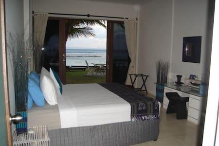 Ocean Front AC Room @ Aquaria Eco Resort - Candidasa