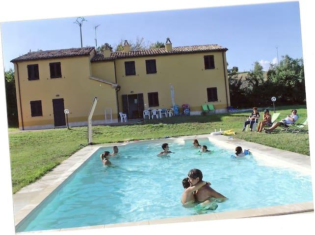 Cascina Balti: Paradiso in Campagna - Ancona - Apartment