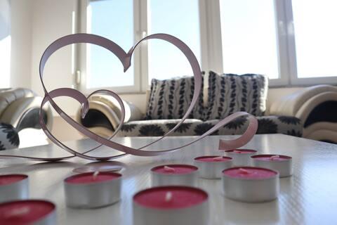 3 Floor Chic Romantisk Rose Lejlighed i Prishtina