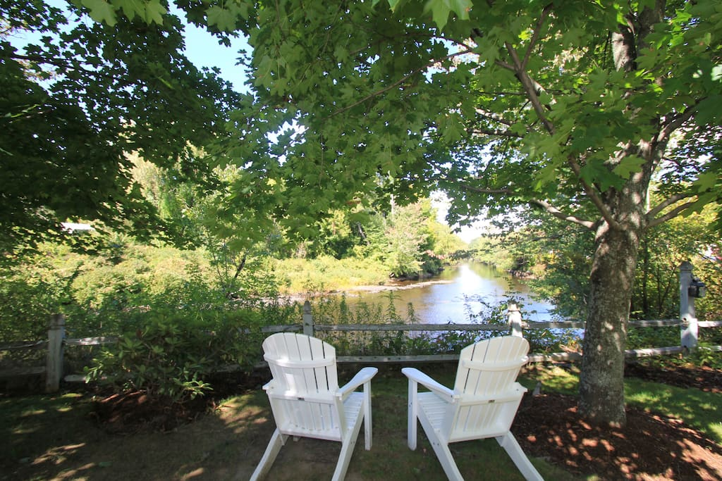 Relax by the Contoocook River