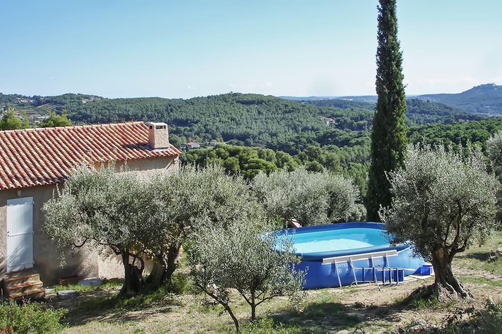 Maison avec jardin et piscine maisons louer sanary for Piscine sanary