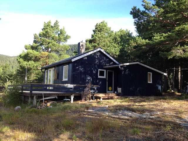 Cabin in the forest by the fjord - Leksvik - Cabana