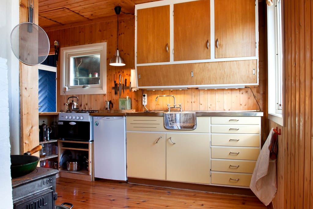 the practical kitchen, reused and homemade