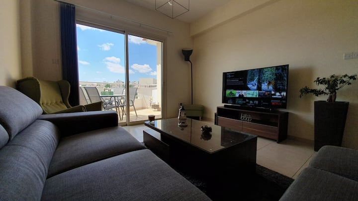 2 Bedroom beautiful, 110sqm apartment, Limassol