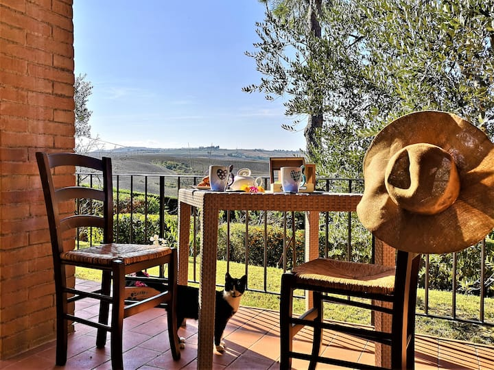 In the heart of nature, San Quirico D'Orcia
