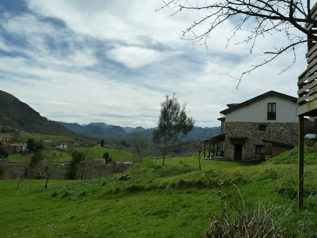Casa impresionantes vistas Sueve - Borines