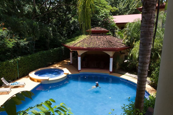 New 2 Br 2 Ba Beach Villa Trop Pool - Nosara- WiFi