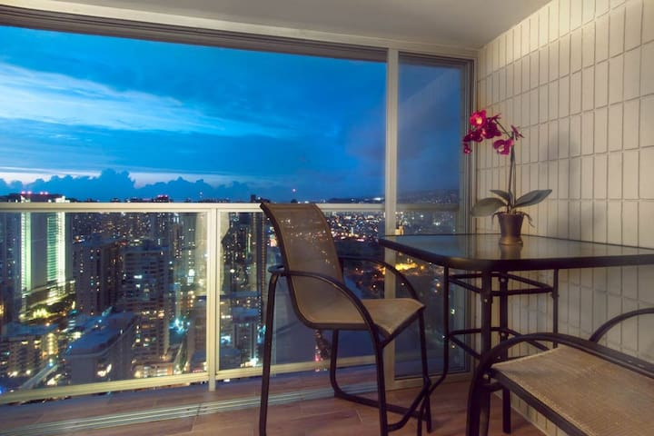 44th Floor Studio Located in the Heart of Waikiki