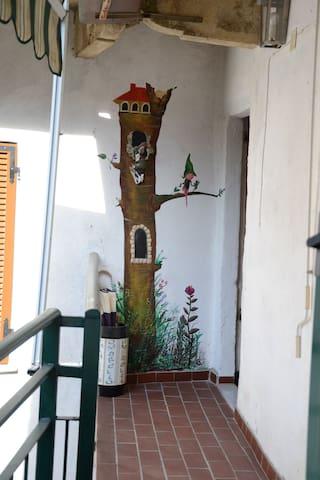 si entra dal terrazzo