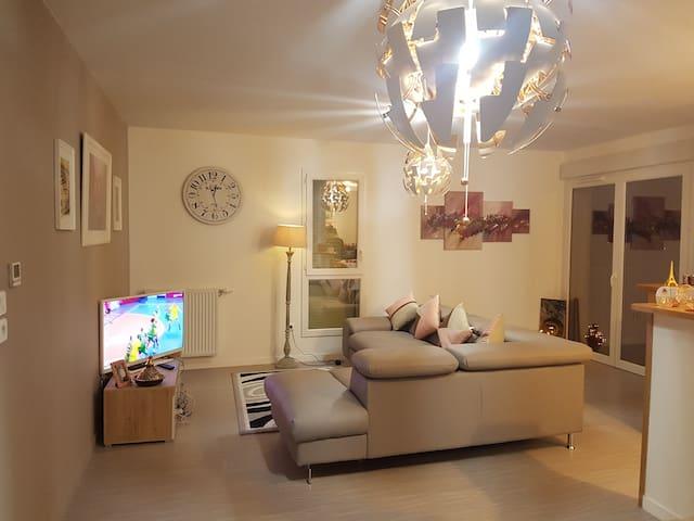 Agréable chambre dans une superbe maison au Mans