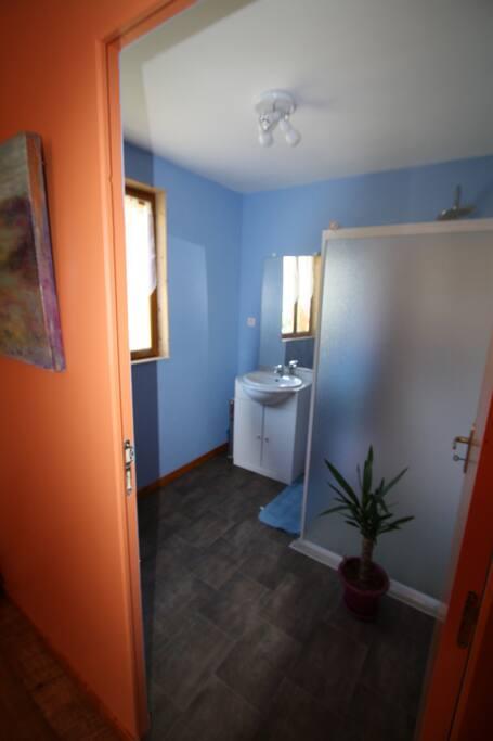 salle de bain lama