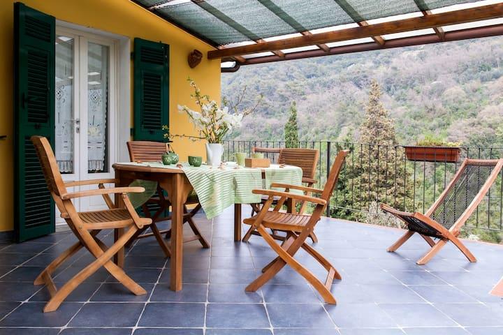Close to 5 terre, terrace, garden - Lerici - Villa