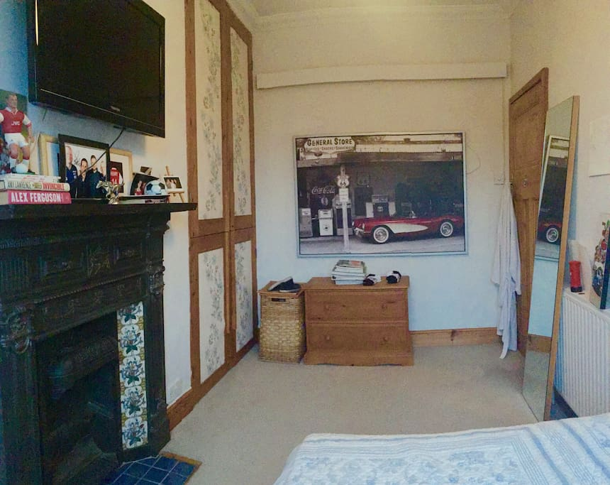 The first double bedroom