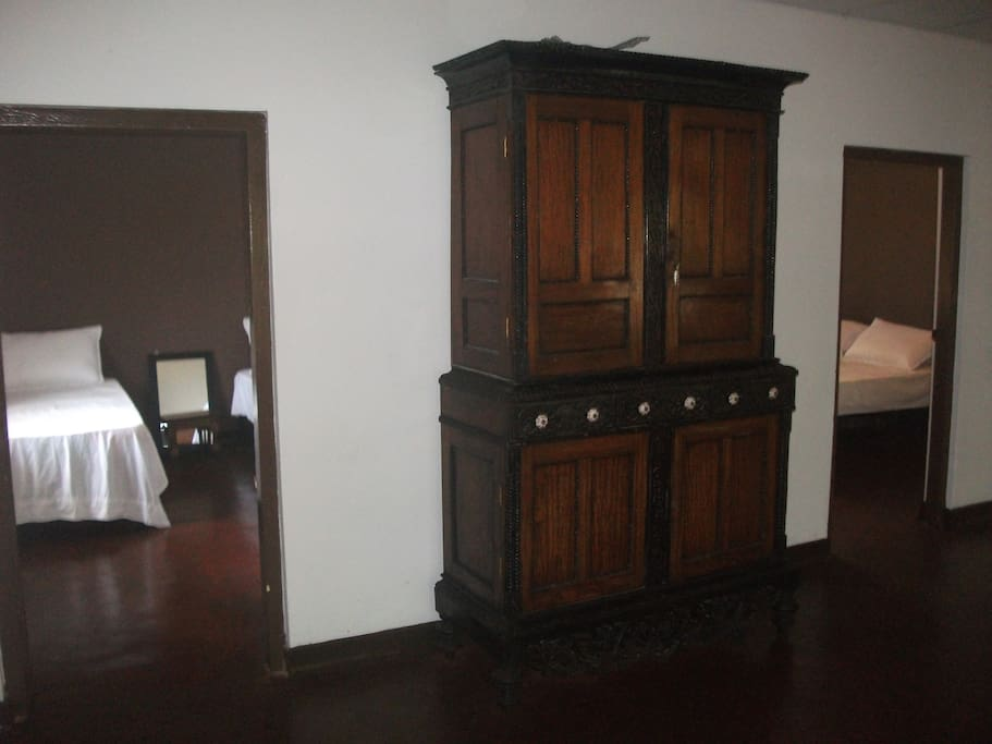 2 Bedroom with antique furniture
