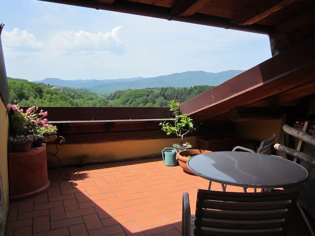Terrazza delle Stelle - Bagnone - Huoneisto