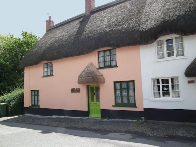 Fairytale thatched cottage & garden - Chulmleigh - Casa