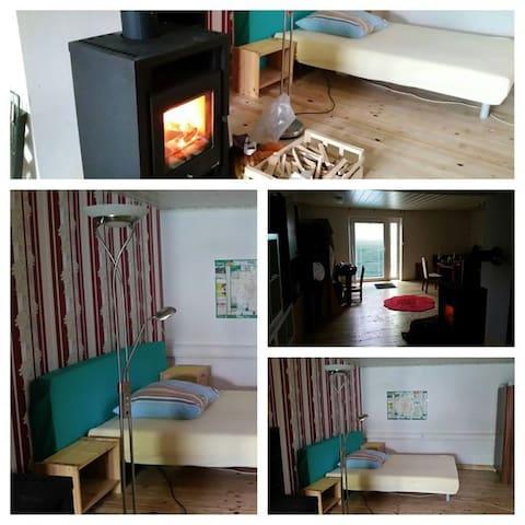 Gemütliches Wohn- und Schlafzimmer! - Feuchtwangen