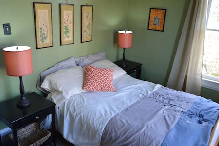 Comfy, Light-filled Room With Charm