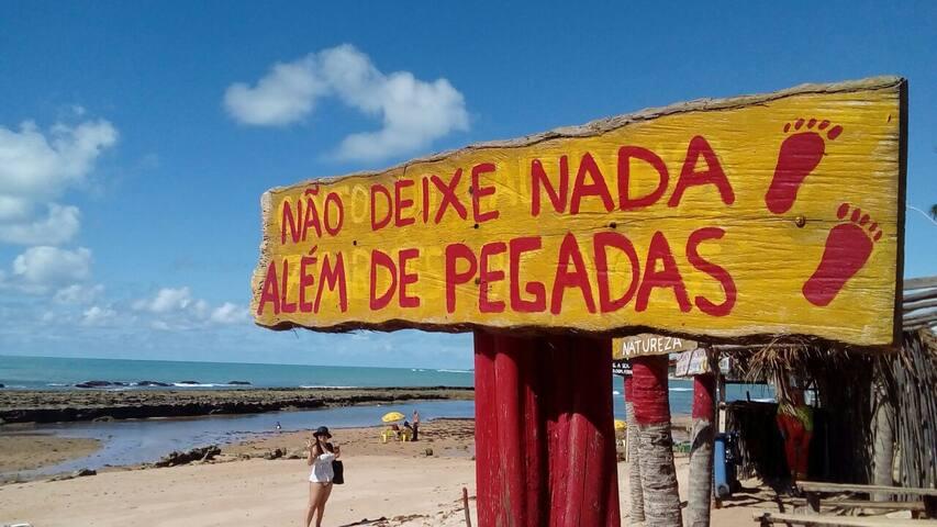 Apartamento aconchegante no litoral de Maceió.
